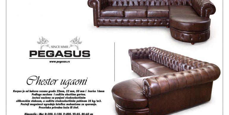 Pegasus ugaona garnitura